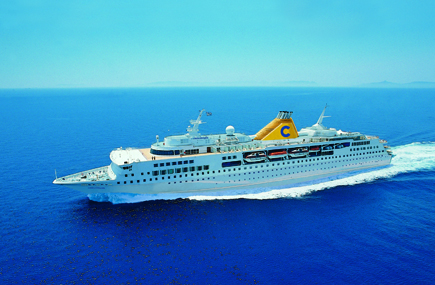 Costa Replaces Allegra With Voyager After Fire