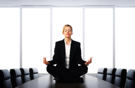 Meditation Is Found to Boost Meeting Performance