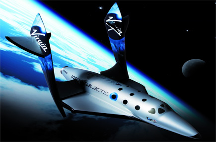 Travel Seller in Orbit Over Space Tourism
